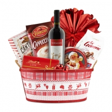 Santa Claus Basket