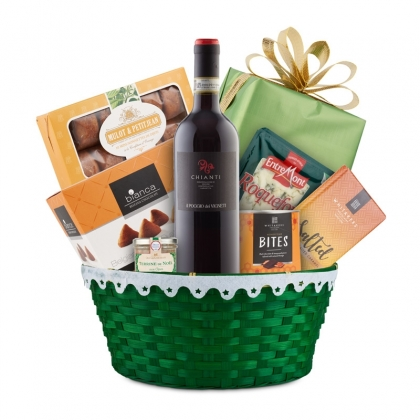 COSURI CADOU ZI DE NASTERE Cos cadou Gourmet Selection