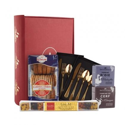 Colectia de cosuri cadou Gastronomie Cutie cadou Le Gourmand