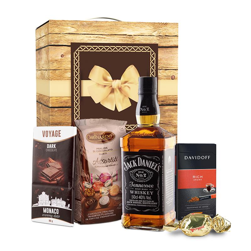 Cosuri cadou cu Whiskey Cutie cadou Gentleman Jack